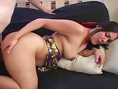 Pakistani wife bends over and gets hard doggystyle